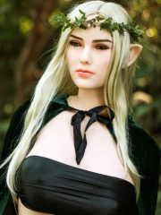 165cm (5ft5″) G-cup jungle ELF elegant Miranda, with ultra-sexy giant boobs, curvy body