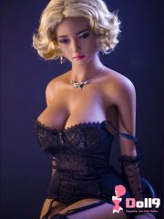 165cm (5ft5″) J-cup Polish elegant blond Anastasia with model figure, especially well-toned butts woman sex doll