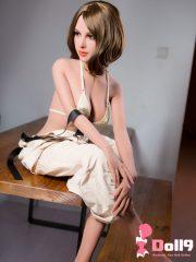156 см (5 футов 11) B-чашка блондин Ямата с головой #111